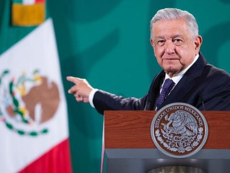No habrá negociación entre Reforma Eléctrica y Presupuesto, advierte AMLO a PRI