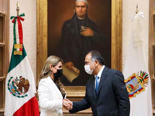 Evelyn Salgado ya es Gobernadora en funciones
