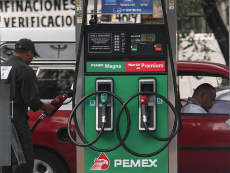 Registran gasolinas aumento de 20% en lo que va del año