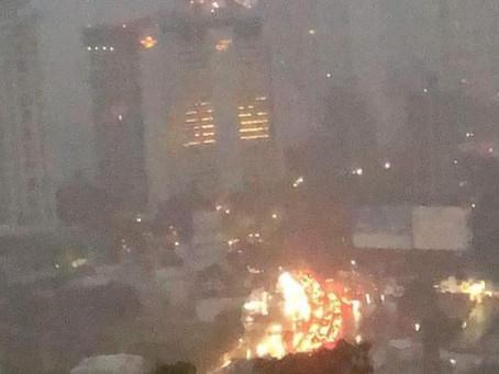 Confirma video que el incendio del Baby'O fue provocado