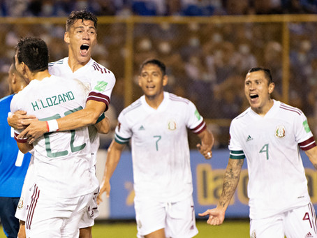 México se trae 3 puntos de El Salvador y mantiene el liderato en Concacaf