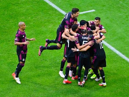 México golea a Honduras y recupera el liderato de la Concacaf