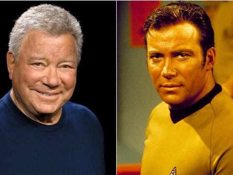 """Capitán Kirk """"regresa"""" al espacio"""