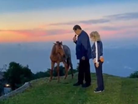 Maduro lo hace otra vez: habla con los animales