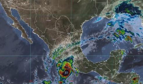 """""""Rick"""" provocará lluvias extraordinarias para Guerrero"""