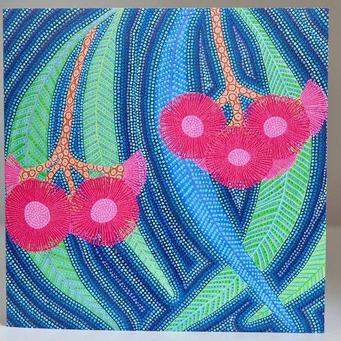 CARD: Eucalyptus in Flower