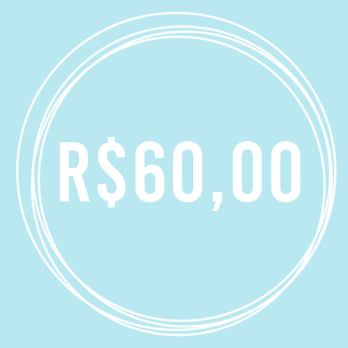 Vale Presente R$ 60