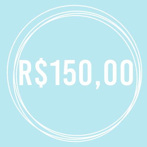 Vale Presente R$ 150