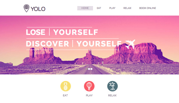 Accommodation website templates – Tour Operator