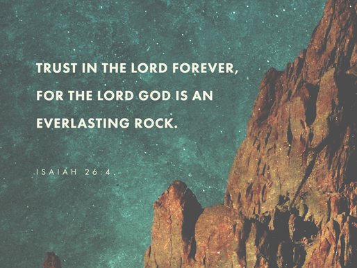 GOD IS OUR ROCK