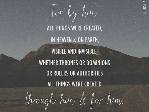 CREATED FOR HIM