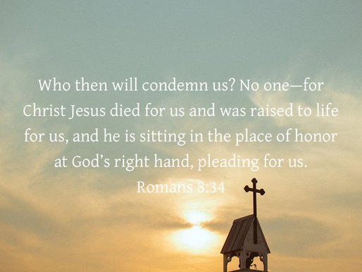THE CROSS: OUR SECURITY AND THE END OF CONDEMNATION