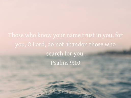 BELIEVING AND TRUSTING