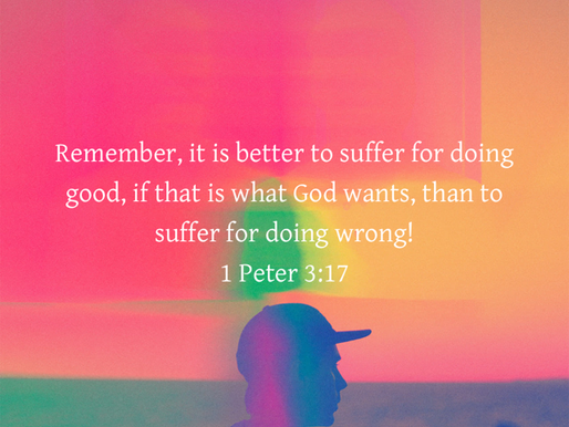 PERSEVERANCE IN DOING GOOD