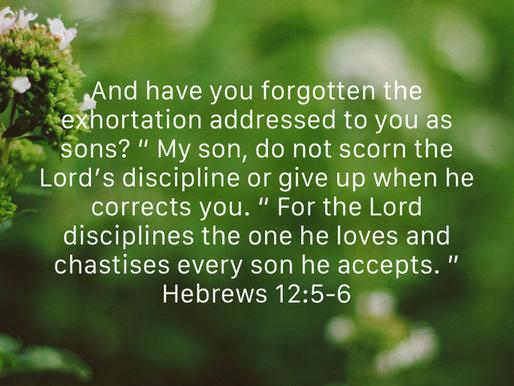 GOD DISCIPLINES