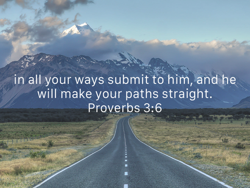 SUBMITTING YOUR WAYS TO GOD