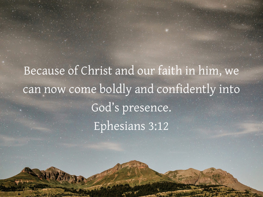 ACCESS TO THE PRESENCE OF GOD