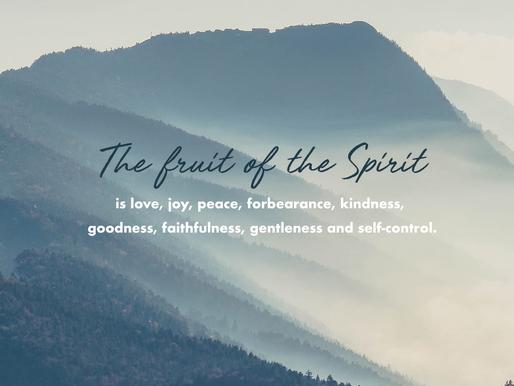 THE FRUIT OF THE SPIRIT: JOY