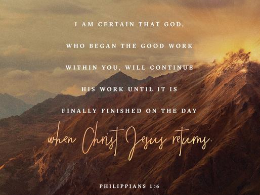 Philippians 1:6 (Daily Devotion)