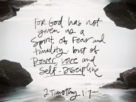 LIVING IN CONFIDENCE IN GOD