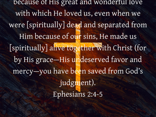 HIS GREAT LOVE FOR US
