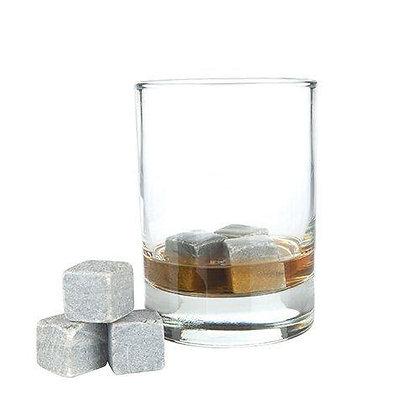 Glacier Rocks: Set of 6 Soapstone Cubes (Viski)