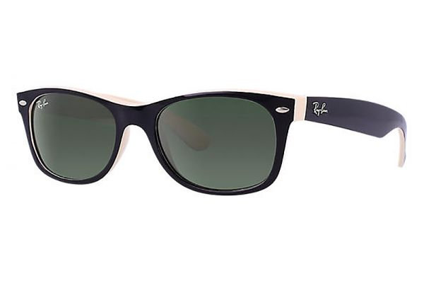 Ray-Ban New Wayfarer Green Classic G-15 Unisex Sunglasses