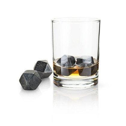 Glacier Rocks® – Hexagonal Ice Cubes (Set of 4)