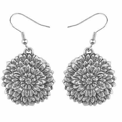 Chrysanthemum Earrings