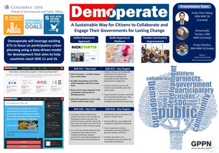 Demoperate: An Online Social Platform for Citizen Engagement