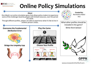 One Week: The Online Policy Simulation Game