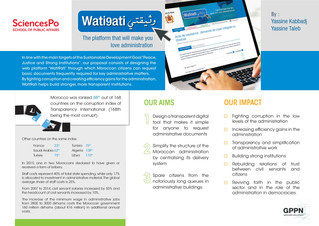 Wati9ati: A Digital Solution to Simplify Administration in Morocco