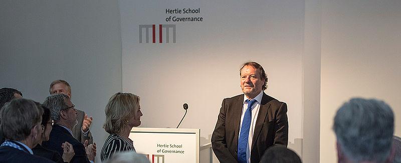 Helmut Anheier at the colloquium
