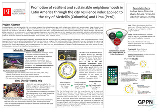 Promotion of Resilient and Sustainable Neighborhoods in Latin America: The City Resilience Index App