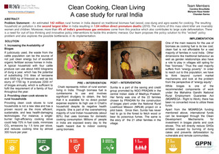 Clean Cooking, Clean Living: A case study for rural India