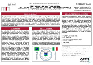 Reducing Food Waste in Brazil: A Brazilian-Italian Legislative Cooperation Initiative