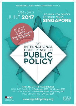 Lee Kuan Yew School of Public Policy to host the 3rd International Public Policy Conference in Singa