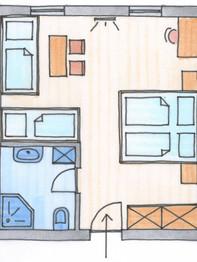 Plan Zusatzzimmer