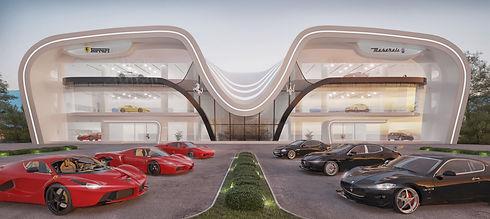Ferrari Maserati showroom Dubai.jpg