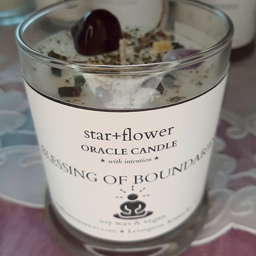 Blessings of Boundaries Oracle Candle