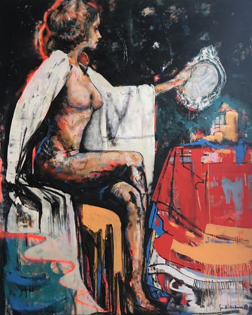 Woman Gazing