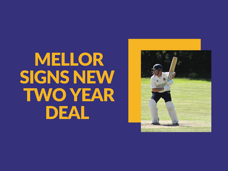 Alex Mellor signs new 2 year deal