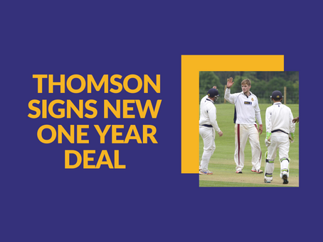 Alex Thomson deal extended!