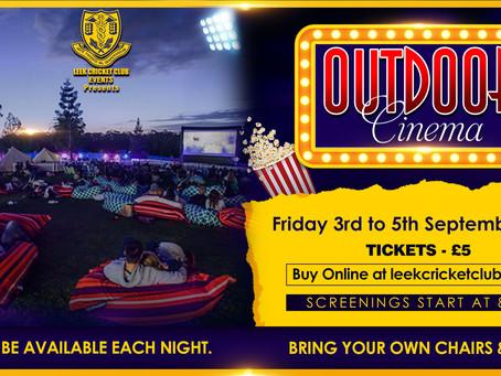 Outdoor Cinema Announced!
