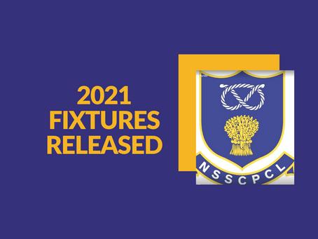 2021 League Fixtures Released