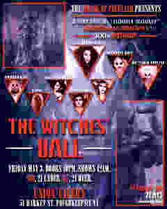 The Witches Ball flier
