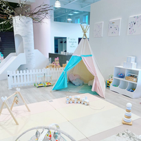 Aire de jeu pour enfants jusqu'à 18 mois