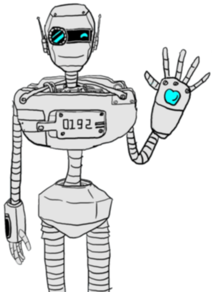 chatbot saying hello