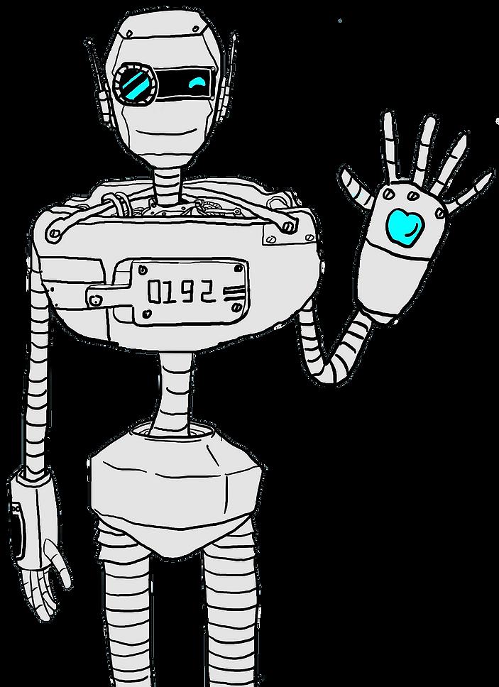 chatbot saying hello