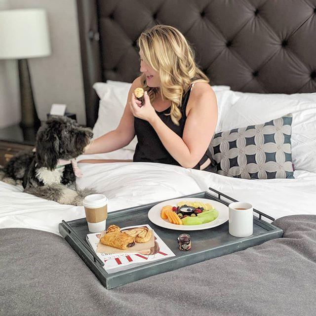 Grand Hyatt Vail Room Service with my Dog